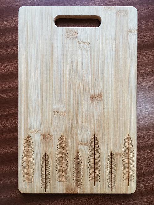 "Cutting Board - Kupukupu, 8.5 x 11"""