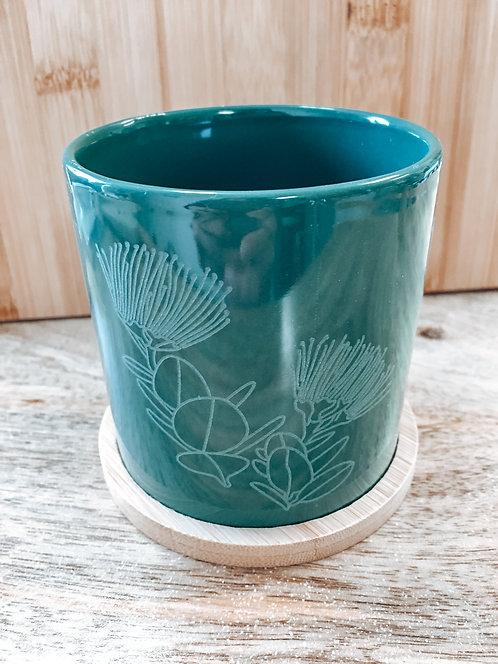 Mini Planter - Green Lehua