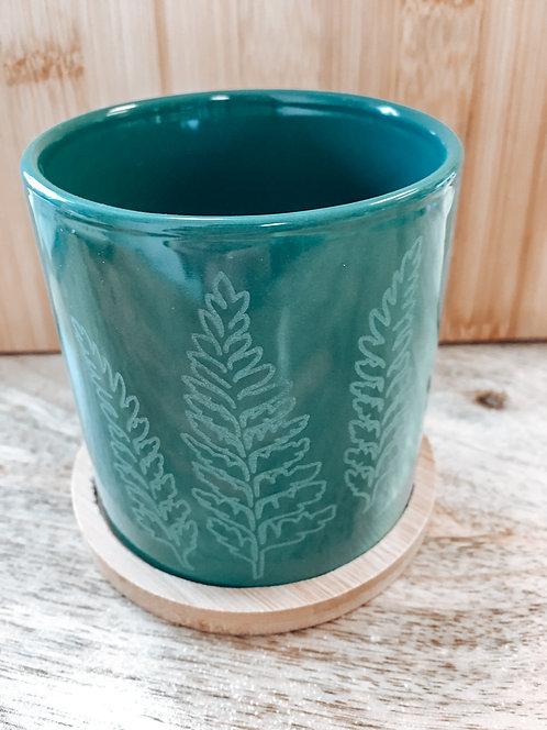 Mini Planter - Green Palapalai