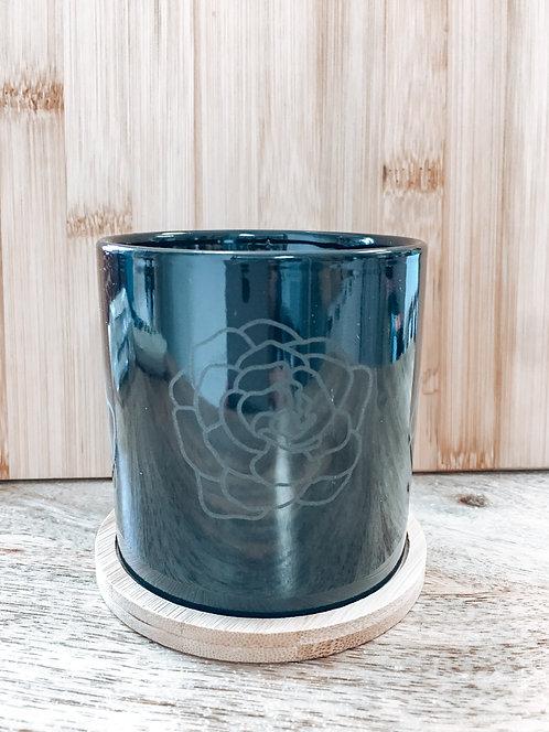 Mini Planter - Black Kiele