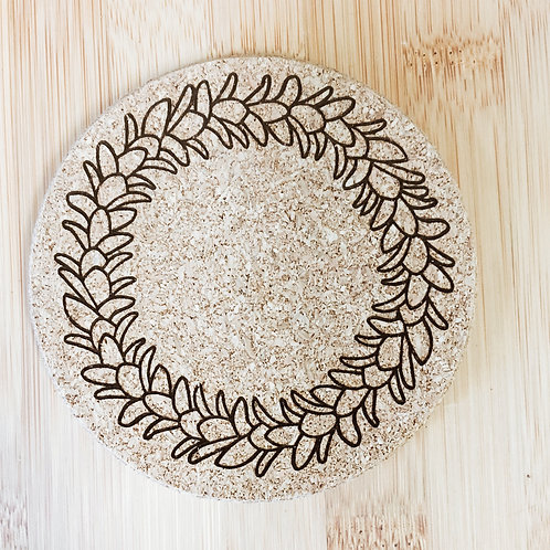Coaster - Plumeria Lei
