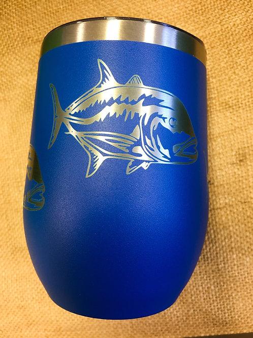 Wine Tumbler - Ulua, Royal Blue