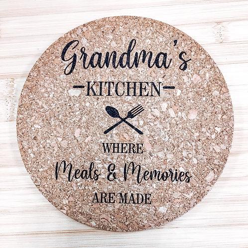 Trivet - Grandma's Kitchen