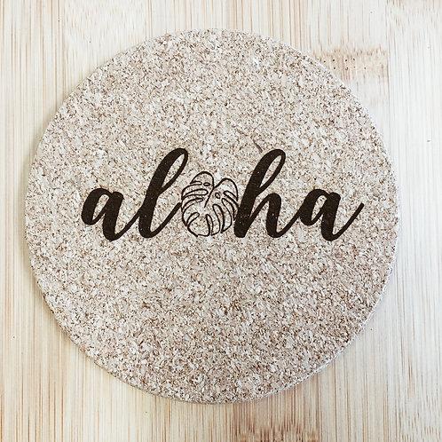 Coaster - Aloha Monstera