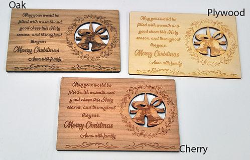 Jingle Bells - Unique Christmas Card