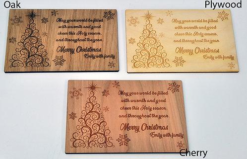 Christmas Tree - Unique Christmas Card