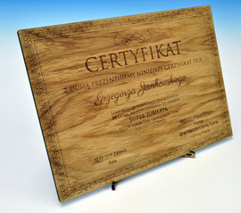 Funny certificate for Birthday