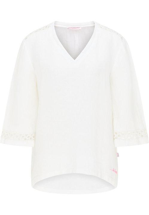 FRIEDA & FREDDIES Bluse in weiß