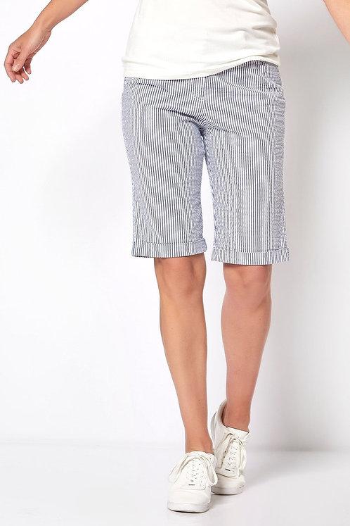 TONI by Relaxed D-Bermudas/Shorts blau weiß