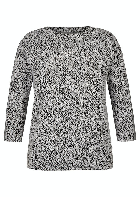 RABE  Sweat-Shirt 3/4 Arm  in Flanell 47-013306