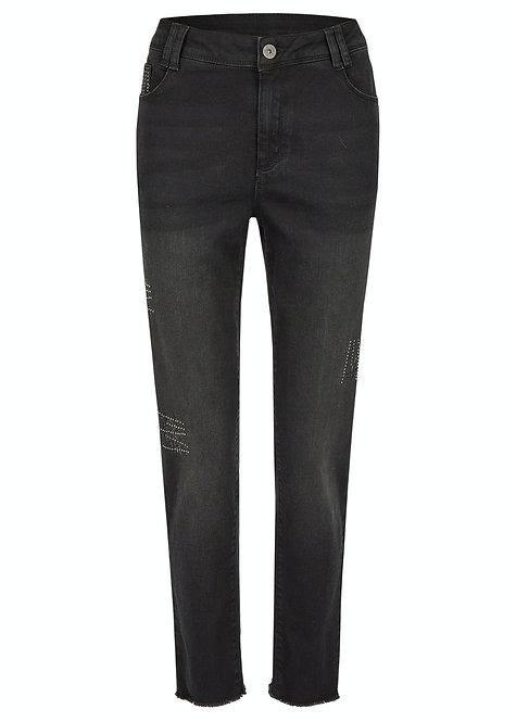 THOMAS RABE schwarze Jeans