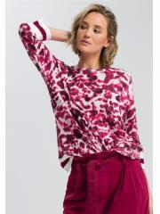 MARC AUREL Pullover in modernem Camouflage