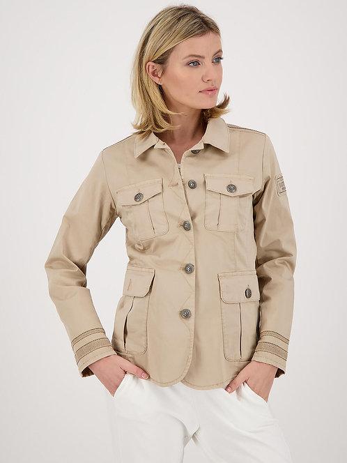 MONARI Baumwoll-Jacke beige