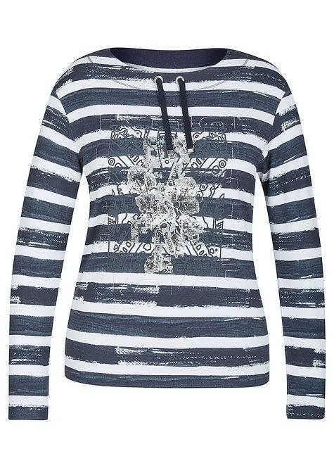 RABE leichtes langarm Sweatshirt gestreift