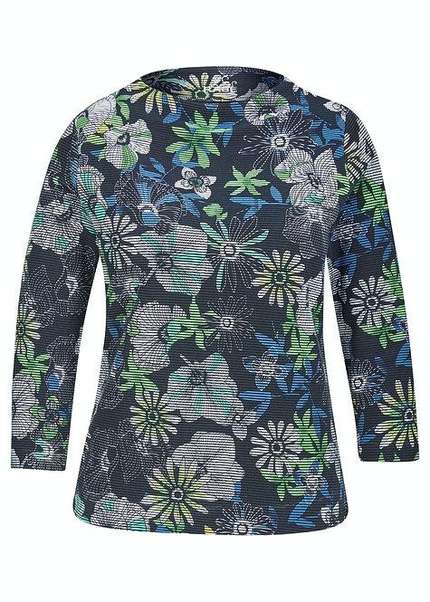 RABE Sweatshirt mit floralem Druck