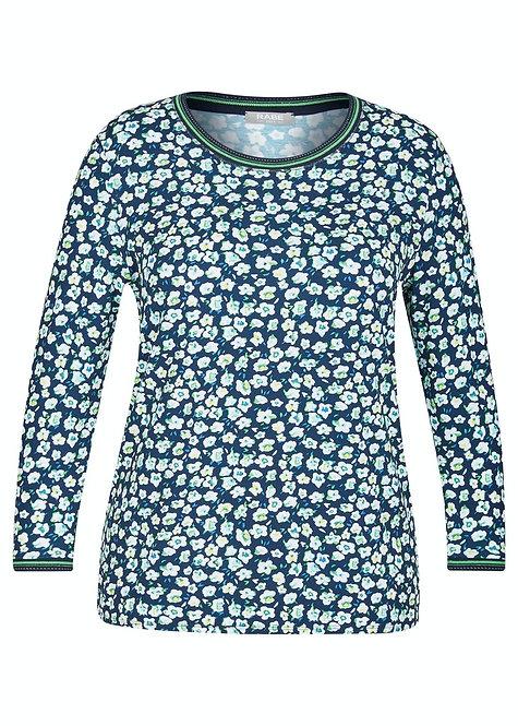 RABE T-shirt mit floralem Druck