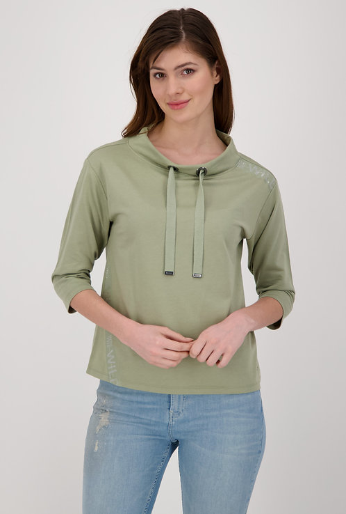 MONARI Shirt dusty green Sweat