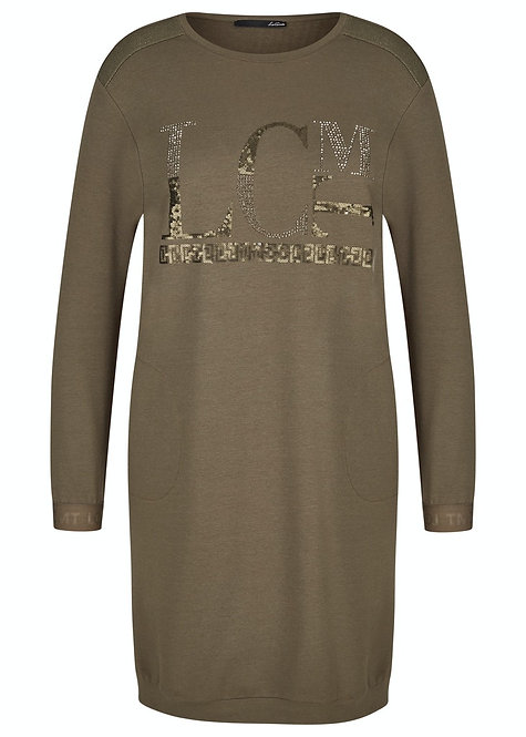 LE COMTE Kleid 47-611460 oliv