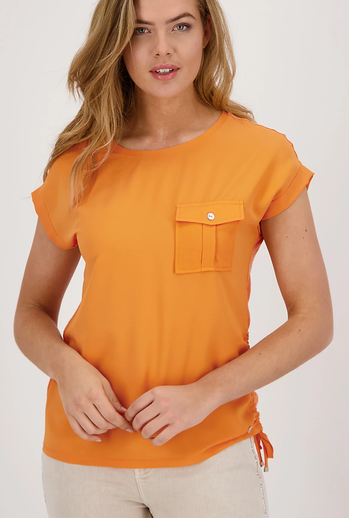 MONARI Blusen-Shirt orange