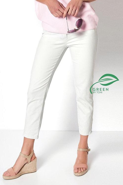 TONI Jeans Perfect Shape Zip in hellgrau