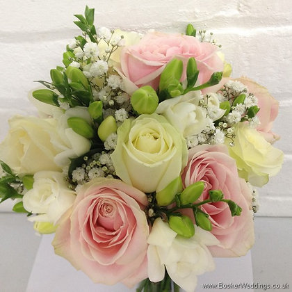 Rose and Freesia Brides Bouquet BB06