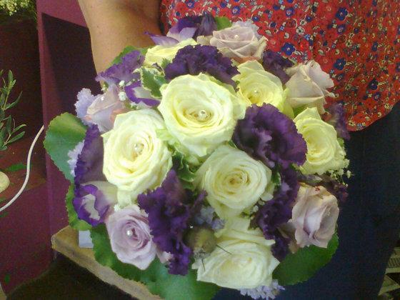 Lilac Purple Bride Bouquet BB03