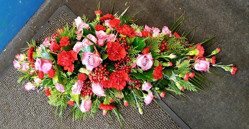 Rose and Carnation Spray