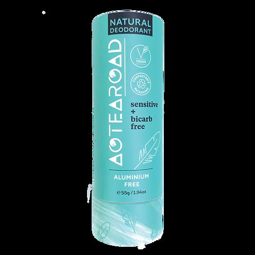 Aotearoad Natural Deodorant     Sensitive Vanilla + Bicarb Free
