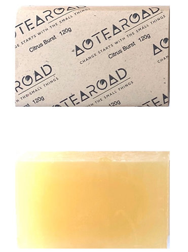 Aotearoad Organic Pineapple Coconut soap - 2 pack