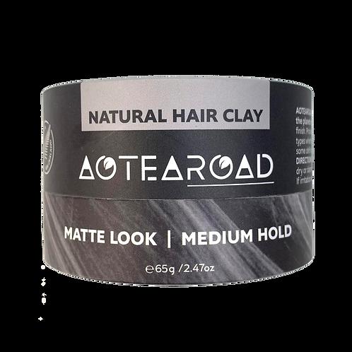 Aotearoad Natural Medium Hold Hair Clay - Vanilla 65g