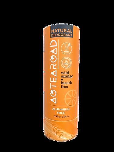 Aotearoad Natural Deodorant Wild Orange + Bicarb Free