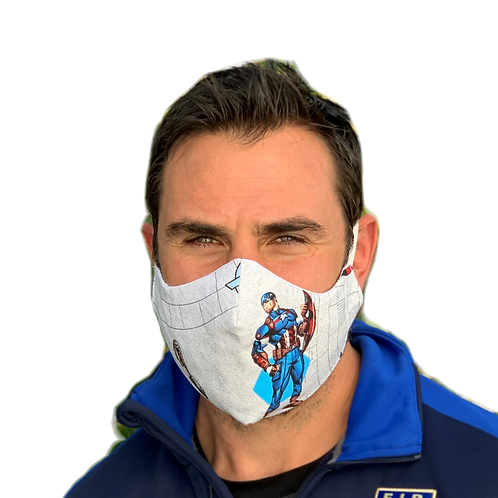 Man Face Mask - Assorted Patterns