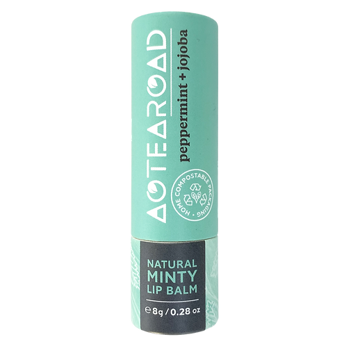 Aotearoad Organic Lip Balm Peppermint + Jojoba 8g