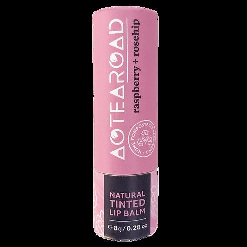 Aotearoad Organic Lip Balm Raspberry + Rosehip 8g