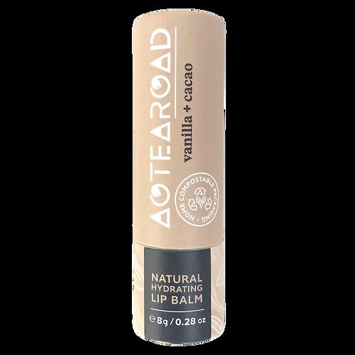 Aotearoad Organic Lip Balm Vanilla + Cacao 8g