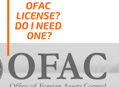 What is an OFAC License?