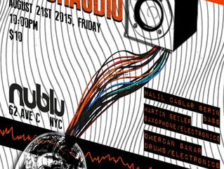 PSYCHAUDIO tonight at Nublu, NYC. Come by...