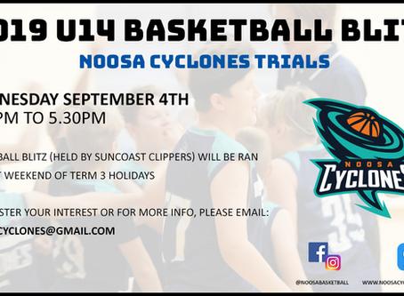 2019 U14 Basketball Blitz Trials