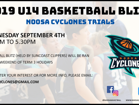 2019 U14 Basketball Blitz Trials