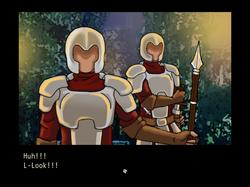 Hand-drawn cutscene