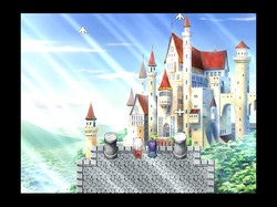 Screenshot of a cutscene