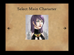 Character selection screen