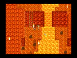The Burning caverns