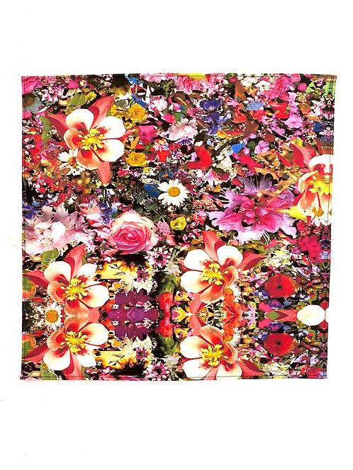 Electric Bloom Napkins (Set of 2)