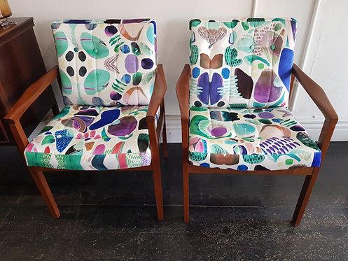 Vintage Retro Armchair Chair Featherston