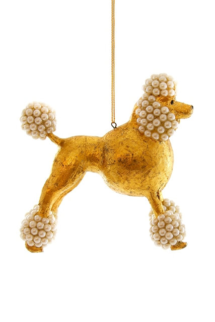 Golden Poodle Decoration
