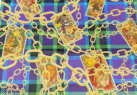 THOK Chains and Tarot Velvet
