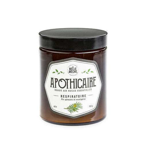Essential Oils Candle RESPIRATOIRE - La Belle Mèche