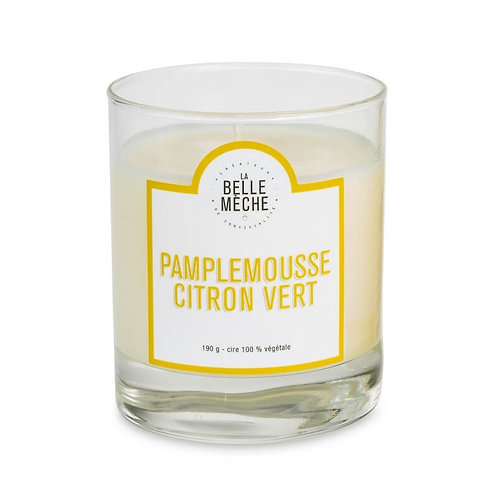 Grapefruit And Lime Scented Candle - La Belle Mèche