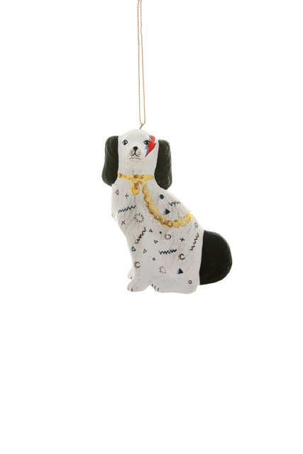 Bow Wow Bowie Christmas Decoration